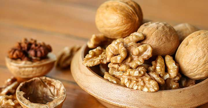 Brain Looking Walnuts with Incredible Benefits