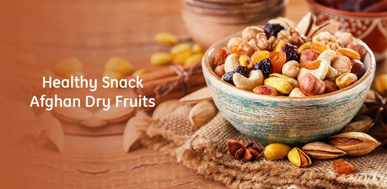 Healthy Snack- Afghan Dry Fruits